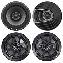 Polk Audio MM652 6.5 600 Watt Car Audio Speakers+ Kicker 6.