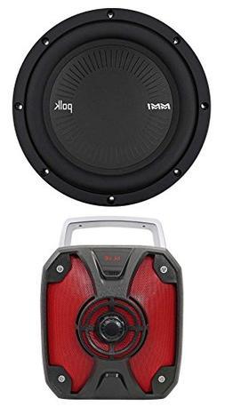Polk Audio MM842DVC 8 900 Watt DVC 4-Ohm Car/Marine Audio Su