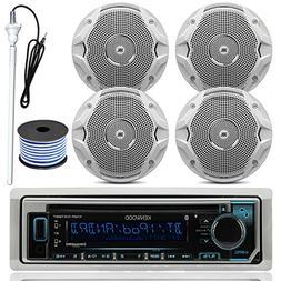 Kenwood MP3/USB/AUX Bluetooth Marine Boat Yacht Stereo Recei
