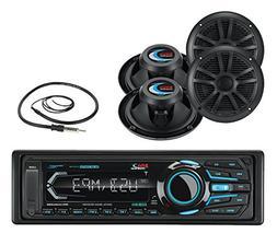 Boss MR1308UABK Single Din Mechless Bluetooth MP3 Solid Stat