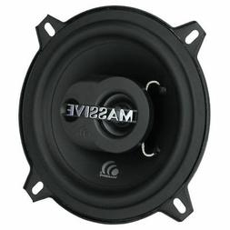 "Massive Audio MX5  5.25"" 180Watt Max 4ohm 2-Way Car Speakers"