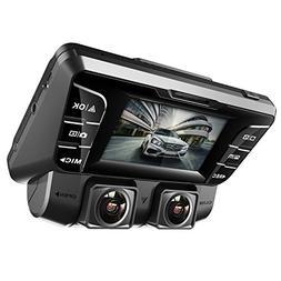 Pruveeo C2 Dual Dash Cam 1920x1080P Front and Rear Car Dashb