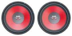 "NEW  15"" SVC Subwoofer Speakers.4 ohm.fifteen inch PAIR.Car"