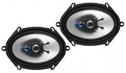 NEW  5x7 3-way Car Audio Speakers.Full Range Coaxial Pair.4