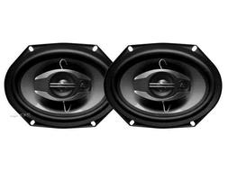 "NEW   6x8"" Car Audio Speakers.Stereo Pair.Pillar.shallow mou"