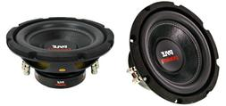 """NEW  8"""" DVC Subwoofer Bass.Replacement.Speakers.Dual 4 ohm.C"""