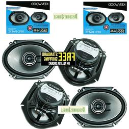 "4X Kenwood KFC-D681C 6x8"" car audio 720W Speakers replacemen"