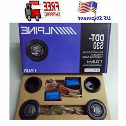 """360W Alpine DDT-S30 2.5CM 1"""" Soft Dome Balanced Car Audio Sp"""