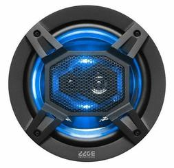 """New! Boss B65LED 300W 6.5"""" 3-Way Coaxial Car Speakers with B"""