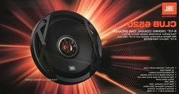 "NEW JBL CLUB6520 6.5"" CLUB 2-Way Coaxial Car Audio Speakers,"