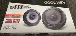 """NEW Kenwood KFC 1666S 6.5"""" 2-Way Coaxial Car Audio Door Flus"""