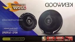 "NEW Kenwood KFC-1695PS 6-1/2"" 3-Way Car Audio Speakers"