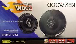 "NEW Kenwood KFC-1795PS 6-3/4"" 3-Way Car Audio Speakers"