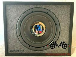 "NEW MEMPHIS PRXE12S 12"" 600W SUB 2 OHM LOADED SUBWOOFER PRX-"