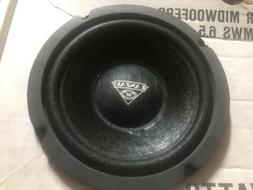 Old School Lanzar MWS 6.5 Midwoofers  Rare NOS Car Stereo Sp