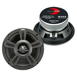 "Lanzar Upgraded 6.5"" High Performance Mid Bass - Powerful"