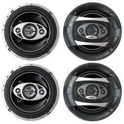 P65.4C 6.5 in. 4-Way 400-Watt Car Audio Coaxial Speakers Ste
