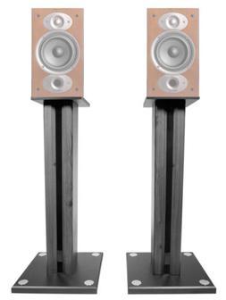 "Pair 26"" Bookshelf Speaker Stands For Polk Audio RTI A3 Book"