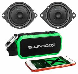 "Pair Memphis Audio PRX27 2.75"" 30 Watt Car Speakers+Portable"