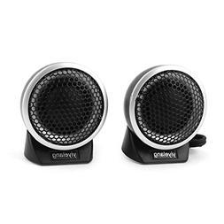 uxcell Pair Car Vehicle Flush Mount Dome Loud Speaker Tweete