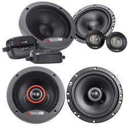 """Pair MB QUART FSB216 6.5"""" 280 Watt Component Speakers+ 6.5"""""""