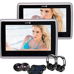 Eincar Pair Of 9Inch Headrests DVD Player Car DVD Headrest M