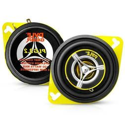"Pair 3.5"" inch 3 1/2"" Car Audio 2-Way Stereo Sound Front Das"