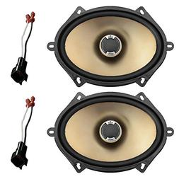 "New Pair Polk Audio Car Audio 5"" X 7"" 2-Way Car Audio Speake"