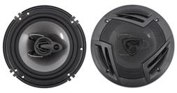 "Pair Rockville RV6.3A 6.5"" 3-Way Car Speakers 750 Watts/140"