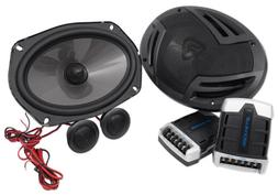 Pair Rockville RV69.2C 6x9 Component Car Speakers 1000 Watts