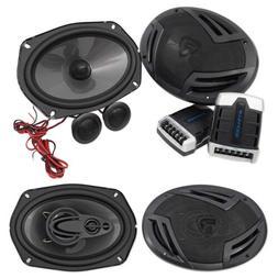 Pair Rockville RV69.2C 6x9 1000w Component Car Speakers+ 6x9