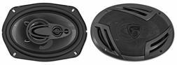 "Pair Rockville RV69.4A 6x9"" 4-Way Car Speakers 1000 Watts/22"