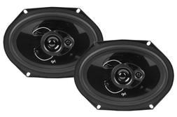 New Pair Audiopipe Speakers Csl-6803 300 Watt 6X8 Car Speake