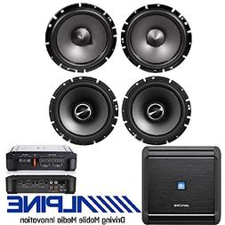 "Pairs Alpine 6.5"" Coaxial Car Speakers Totalling 960 Watts"