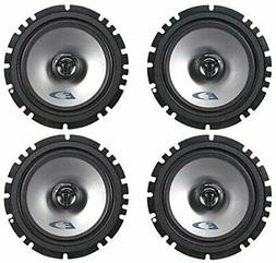 "Pairs Alpine SXE-1725S 6.5"" 80 Watt RMS 4 Ohm 2-Way Coaxial"