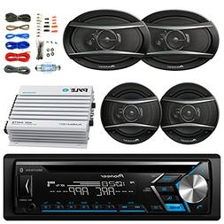 Pioneer DEH-S4000BT Bluetooth Radio USB AUX CD Player Receiv
