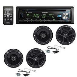 Pioneer DEH-X6900BT Single DIN Bluetooth in-Dash CD/AM/FM Ca