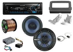 Pioneer Single-DIN Bluetooth AM/FM USB AUX Digital Media Ste