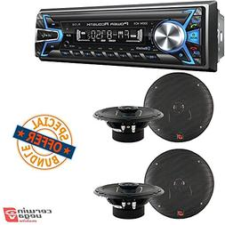 Power Acoustik PL-51B 1-DIN Digital Audio Head Unit With 32G