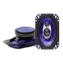"Pyle PL463BL 3-Way 4"" x 6"" Car Speaker"