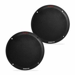 6.5 Inch Dual Marine Speakers - 2 Way Waterproof and Weather