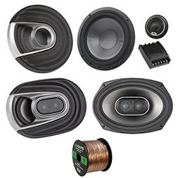 2X Polk Audio MM MM692 Series Ultra Marine Certified 6x9 3 W