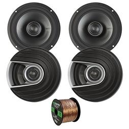 "4X Polk Audio MM Series Ultra Marine Certified 6.5"" 2 Way Co"