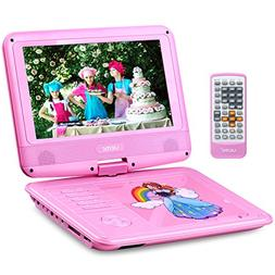 """UEME 9"""" Portable DVD Player with Car Headrest Mount Holder  """