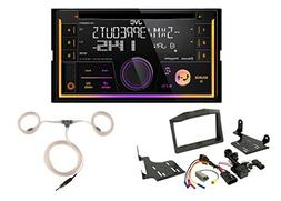 Powersport Audio: JVC Double DIN Car Audio USB AUX CD Blueto