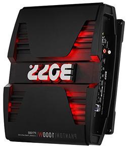 BOSS Audio PT1000 Phantom 1000 Watt, 2 Channel, 2/4 Ohm Stab
