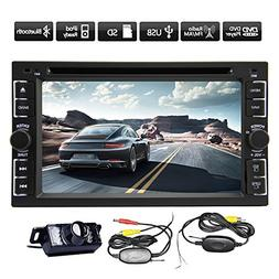 Pupug New Hot Model 6.2-Inch Car Dvd Player Double-2 DIN In