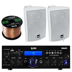 Pyle PDA6BU Amplifier Receiver Stereo, Bluetooth, FM Radio,