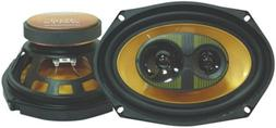 Pyramid 6908GS 6-Inch x 9-Inch 400-Watts 3-Way Speakers