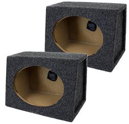Q Power Pair 6 x 9 Inches Unloaded Boxes, 1-Pair